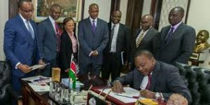 President Uhuru Kenyatta-Interest Rate Capping